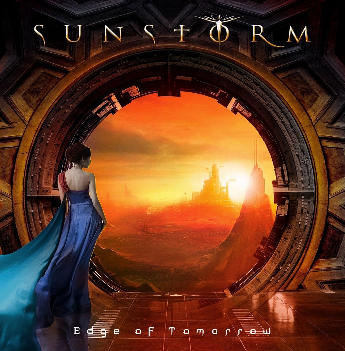 CD : Sunstorm - Edge of Tomorrow (CD)