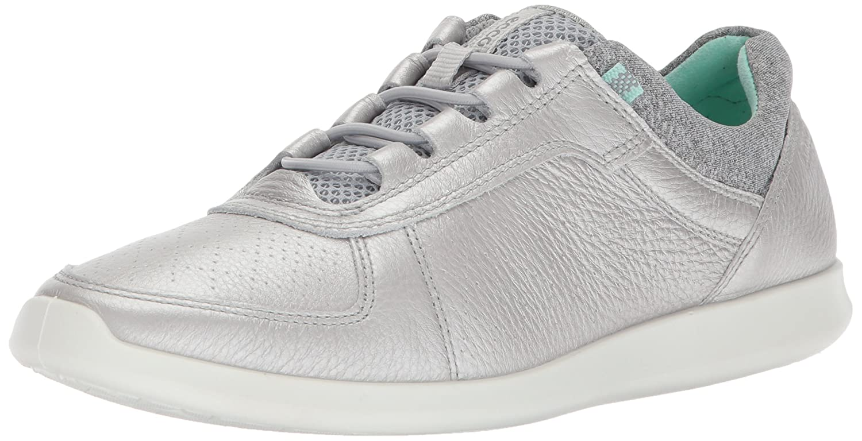 ECCO Women's Sense Toggle Fashion Sneaker B071H74HW2 41 EU/10-10.5 M US|Alusilver