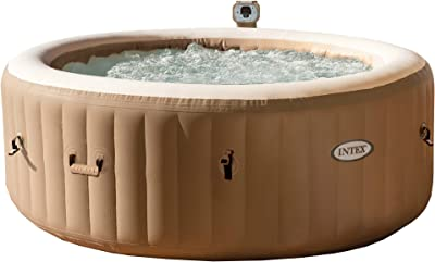 Intex 77 In PureSpa Portable Bubble Massage Hot Tub
