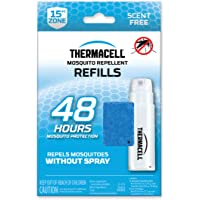 Thermacell R-4 Mosquito Repeller Refill, 48 Hour Pack (12 Repellent Mats and 4 Fuel Cartridges)