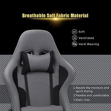 Intimate Wm Heart Gaming Stuhl Racing Gamer Stuhl Bürostuhl Stoff
