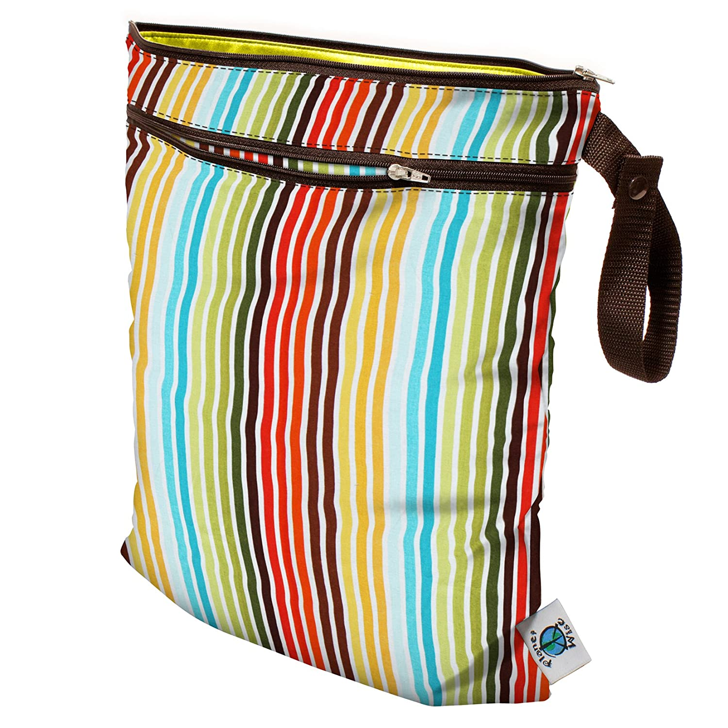 Earth Stripe Planet Wise Wet//Dry Bag