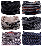 Amazon Price History for:SmilerSmile 6pcs Assorted Seamless Outdoor Sport Bandanna Headwrap Scarf Wrap, 12 in 1 High Elastic Magic Headband & Collars Muffler Scarf Face Mask with UV Resistance