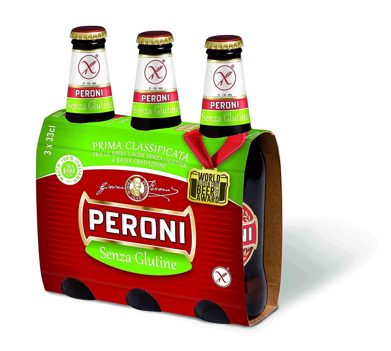 Cerveza sin gluten peroni 33cl cerveza italiana gourmet ...