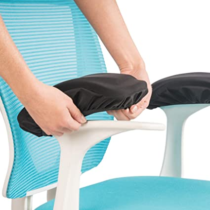 Beau Adjustable Office Chair Arm Pads: Memory Foam Armrest Pad Cover Relieves  Forearm And Elbow Pain