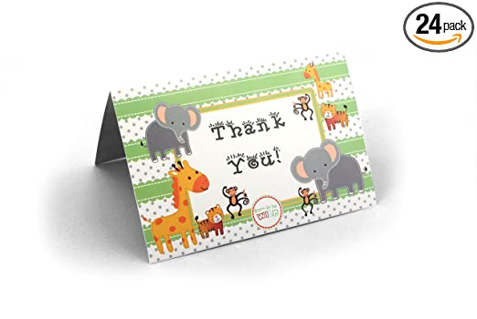 Cards Party Thank You Cards Dinosaur Jungle Personalised Birthday Party With Envelopes Any Custom Text For Any occasion Arts & Crafts