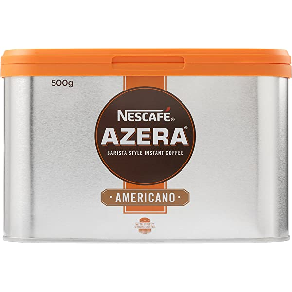 Nescafé Azera Americano Instant Coffee Tin 500g Amazonco