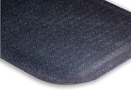 Andersen Hog Heaven Plush Anti-Fatigue Carpet Mat - Custom-Cut Size - 3'W - Brown - 7
