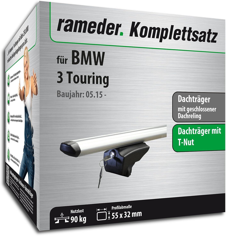 Rameder Komplettsatz 111287-10266-1 Dachtr/äger Pick-Up f/ür BMW 3 Touring