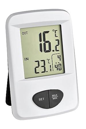 Herter Instruments - Termometro Digital C/Reloj Y Sensor Temp. 30306102: Amazon.es: Jardín