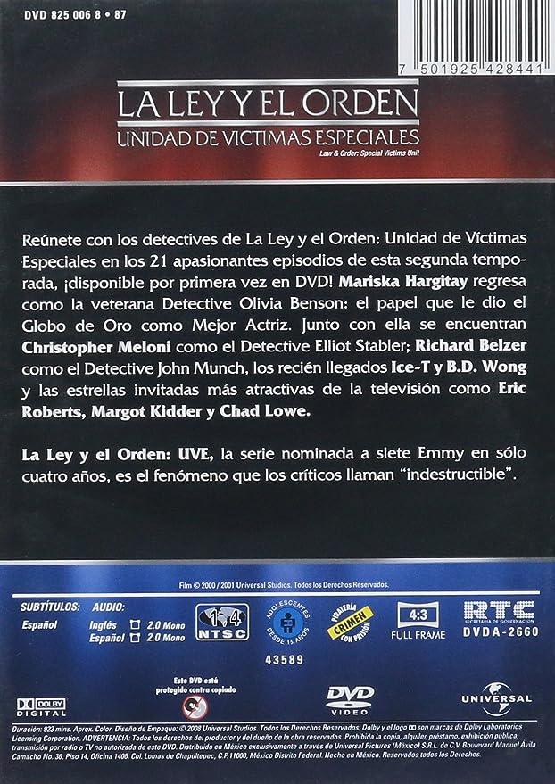 La Ley y el Orden UVE Temporada 2 Español Latino: Amazon.ca ...