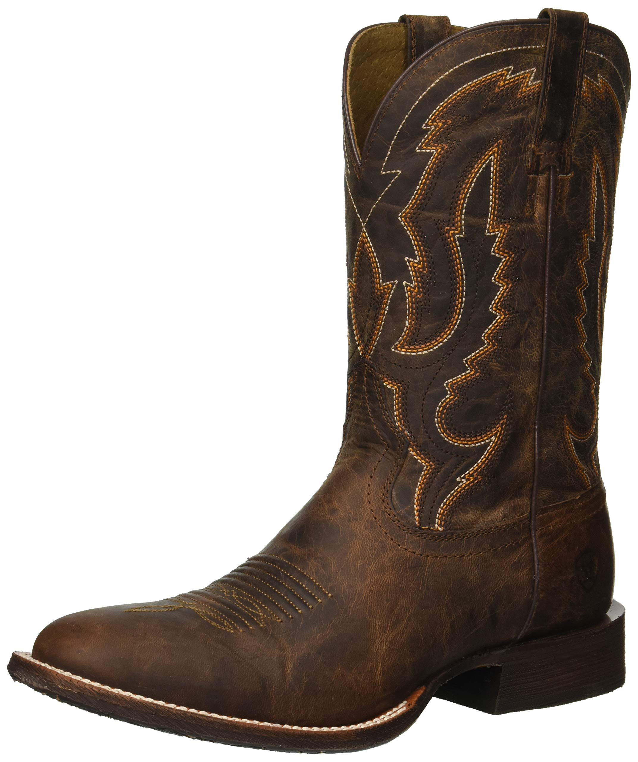 ARIAT Men's Circuit Competitor Western Boot, Weathered Tan, 13 D US