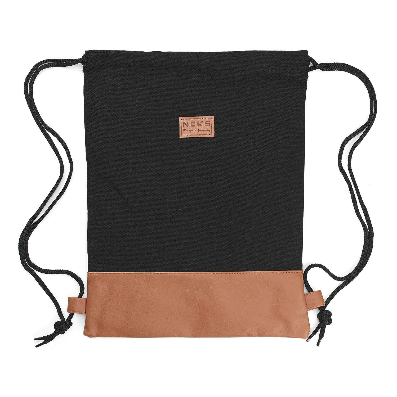 Segeltuch Turnbeutel Gym Bag Stofftasche Sportbeutel Tasche Rucksack