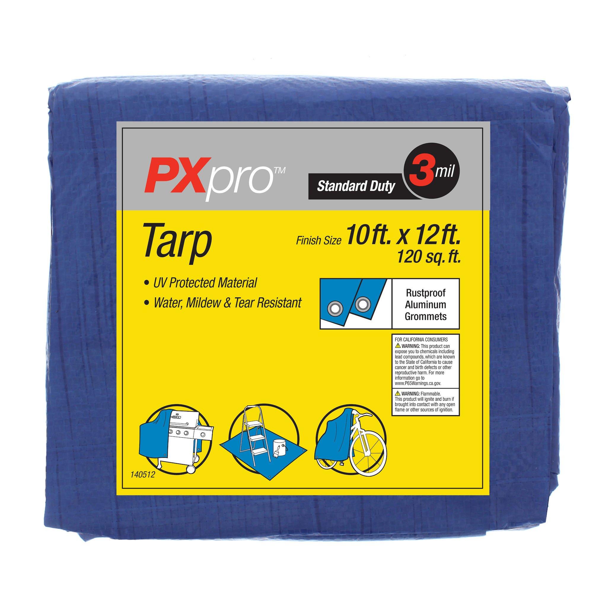 PXpro Standard Duty Tarp 10'X12'