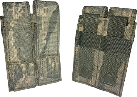 ab7e71871735 Fire Force Item 8675 MOLLE M9 Double Magazine Pouch Made in USA (ABU)