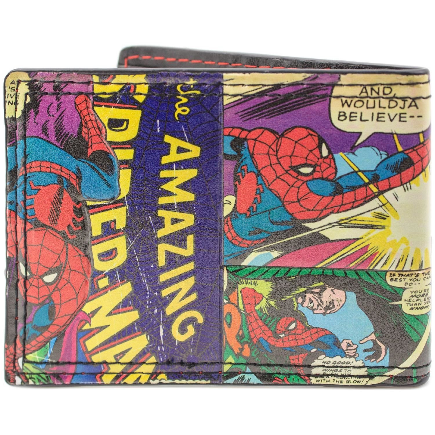 Cartera de Marvel Spider-Man Estilo cómico Multicolor ...