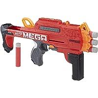 Lança Dardo Accustrike Mega Bulldog, Nerf, Vermelho/laranja