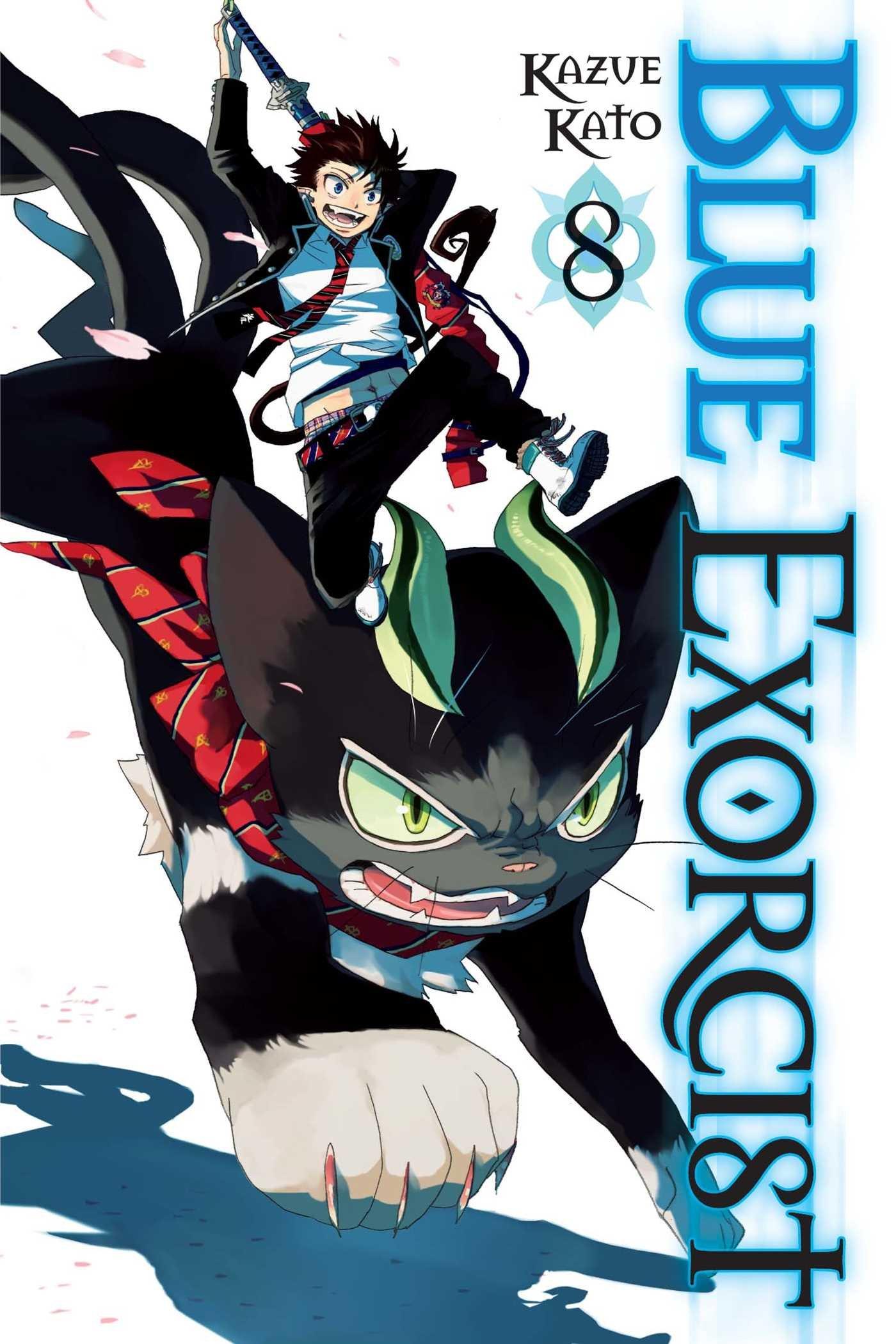 blue exorcist vol 8 kazue kato 9781421550848 amazon com books