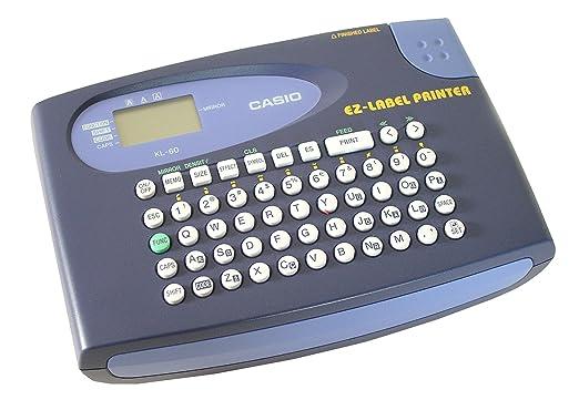 22 opinioni per CASIO KL-60 etichettatrice portatile- Display a 2 righe, supporta tutti i nastri