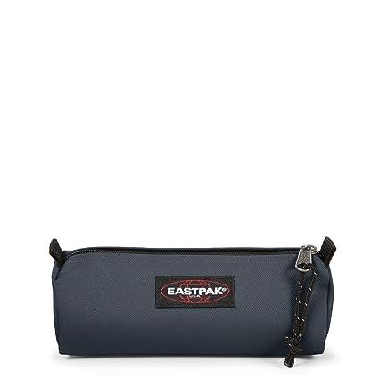 Eastpak Benchmark Single Estuche para lápices, 20.5 cm, Azul (Midnight), poliéster