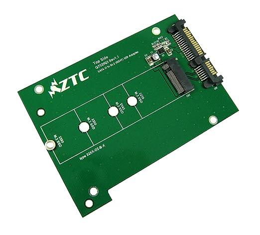6 opinioni per ZTC tuono scheda SSD di m. 2 (NGFF) alla scheda adattatore SATA III