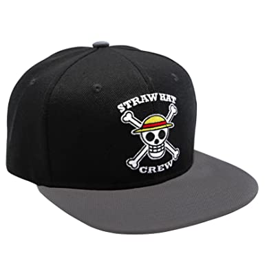 ABYstyle - ONE Piece - Cap - Skull Black Gray  Amazon.co.uk  Clothing 9ca68acc576