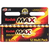 Kodak Pila Alcalina AAA Max (12unidades)