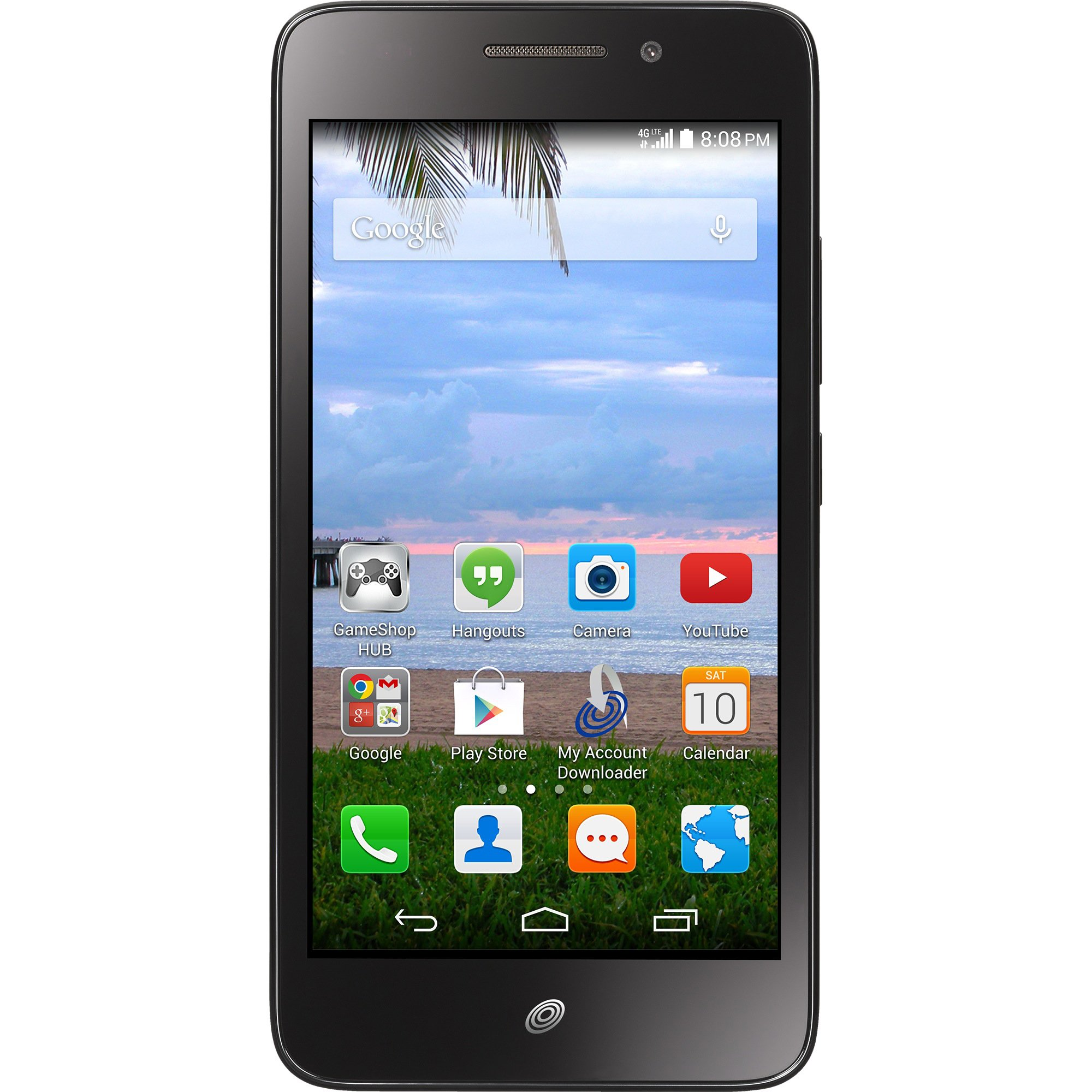 Net10 Huawei Pronto Android GSM 4G LTE Smartphone by Net10