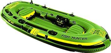 Amazon.com: Sevylor Fish Hunter Inflatable Boat: Sports ...