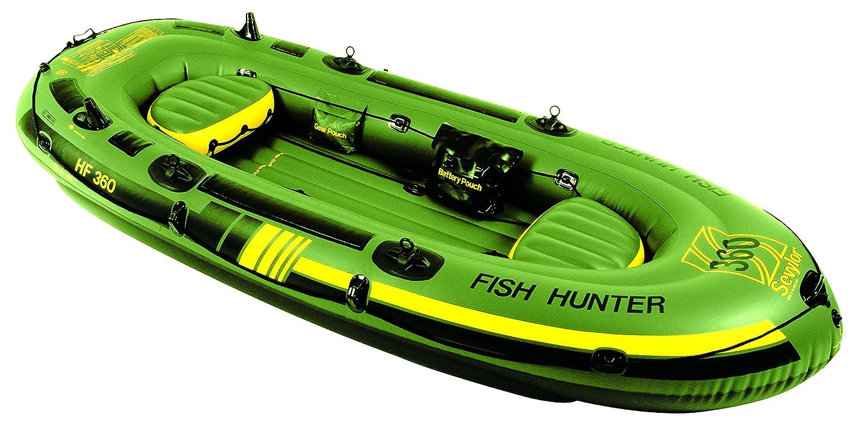 Sevylor Fishhunter - Bote de pesca hinchable verde verde Talla:HF250: Amazon.es: Ropa y accesorios