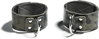 product image for Varik Adjustable Camo Leather Ankle Cuffs