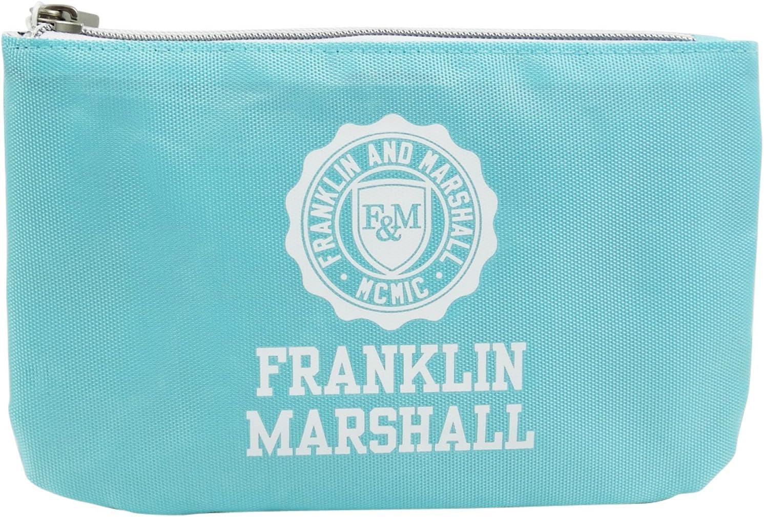 Franklin Marshall Make Up Bag con El Power Bank Bolsos Neceser Vanity Pochettes Azul: Amazon.es: Equipaje