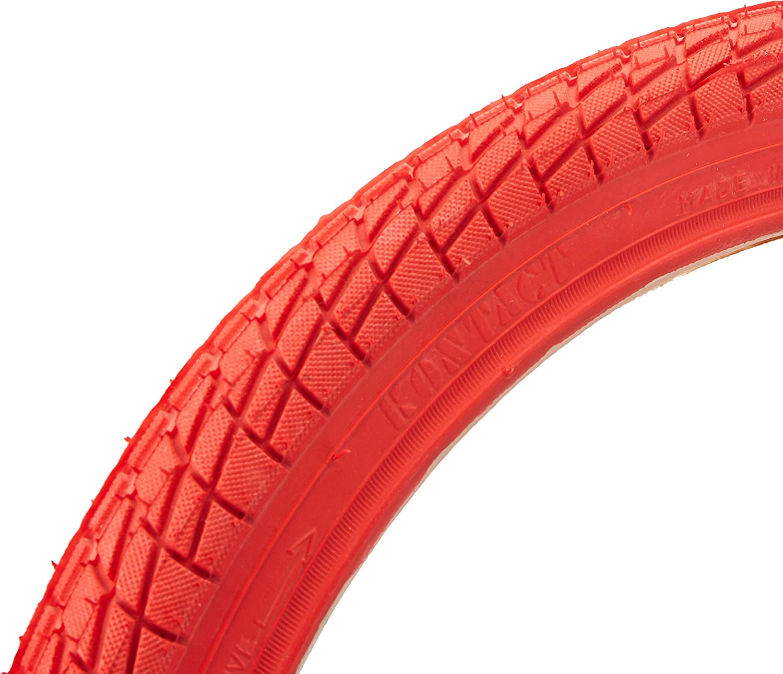 "1-2 Pack New Kenda Kontact 20/"" x1.95/"" Tires Blue//Black Red//Black Black"