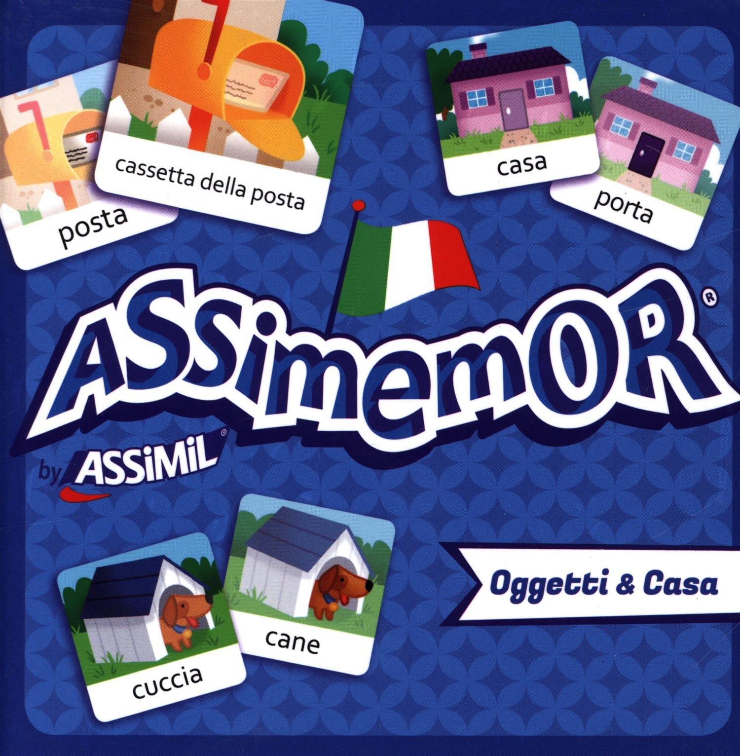 Assimemor Casa & Oggeti Cartonné – 22 septembre 2016 Collectif Assimil 2700590457 Età: a partire dai 5 anni