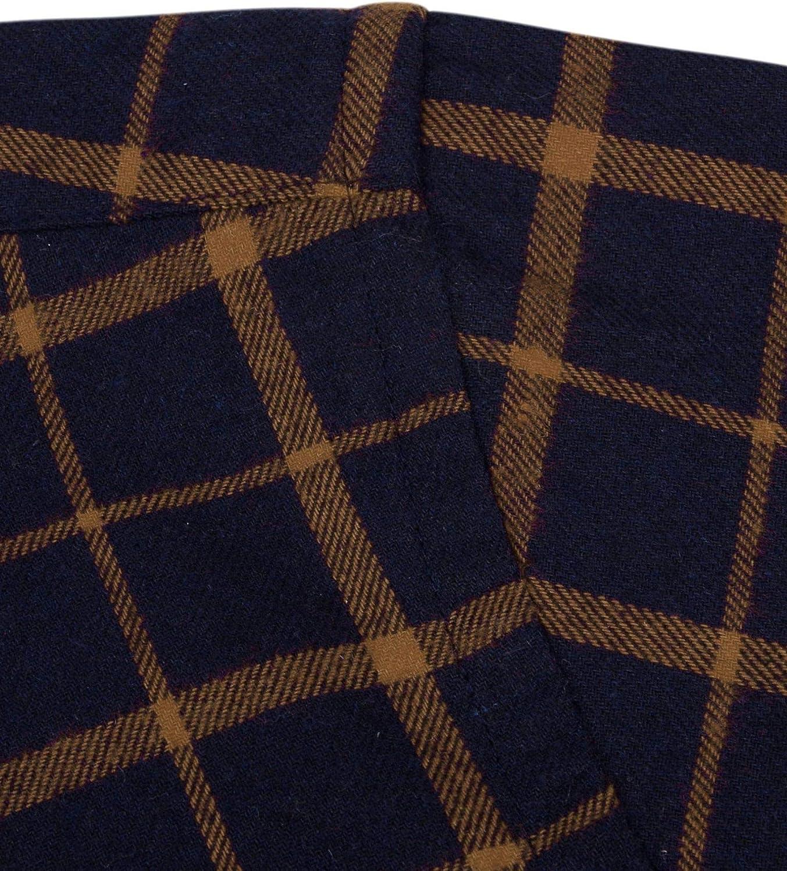 Alimens /& Gentle Mens Casual Button Down Flannel Shirt Plaid
