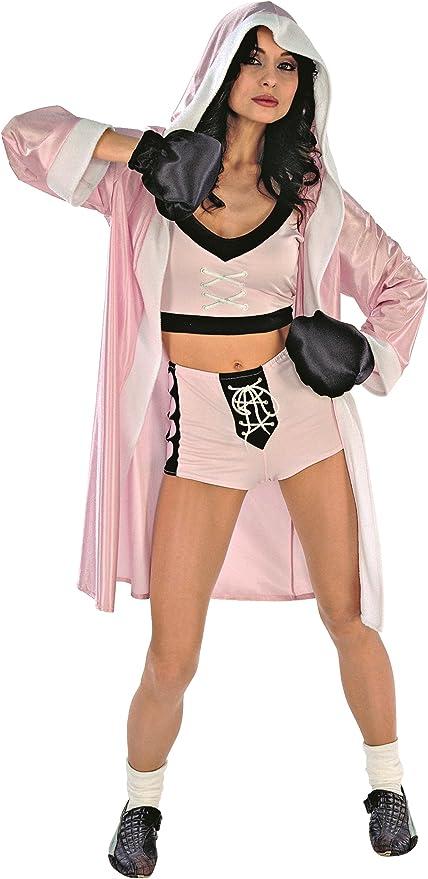 Rio - Disfraz de boxeadora para mujer, talla 44-46 cm (151196/4446 ...