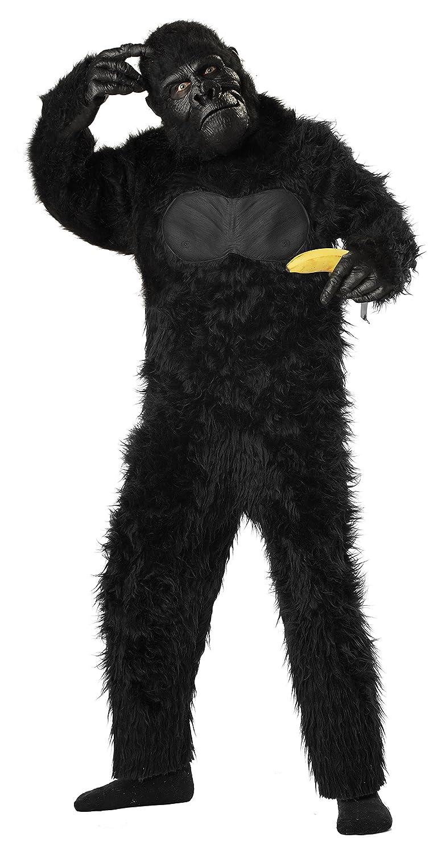 Generique - Gorilla Kostüm für Kinder 128/140 (8-10 (8-10 (8-10 Jahre) 3f82af