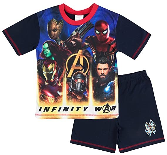 3e20f9ff9e1 Amazon.com: 100% Official Merchandise Kids Boys Avengers Infinity ...