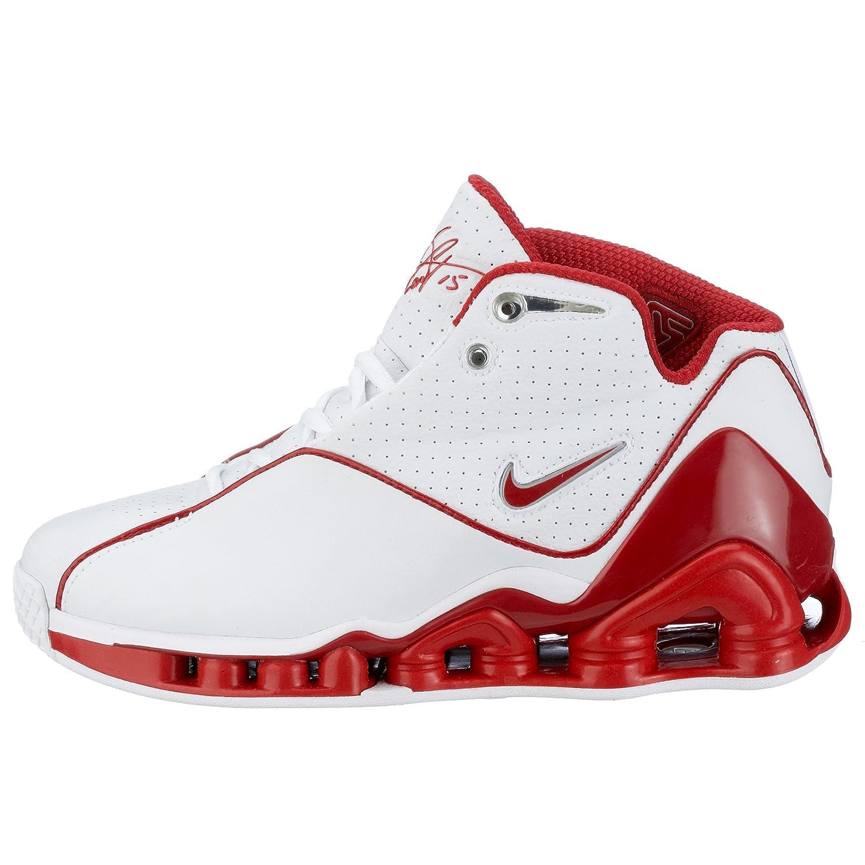 new concept 7282e 0db93 Nike Boys  Nike Shox VC II (GS) White 305080-161 5.5 UK  Amazon.co.uk  Shoes    Bags