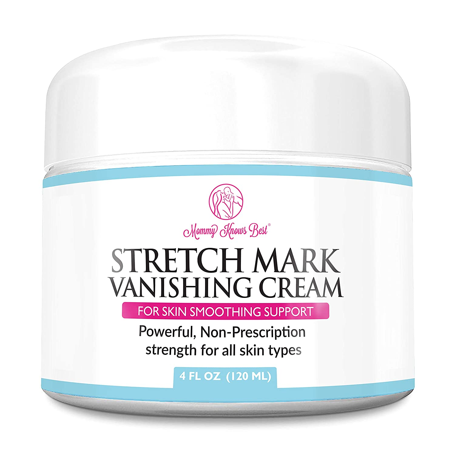 Stretch Mark Cream for Pregnancy & Scar Removal - 100% Retinol Free