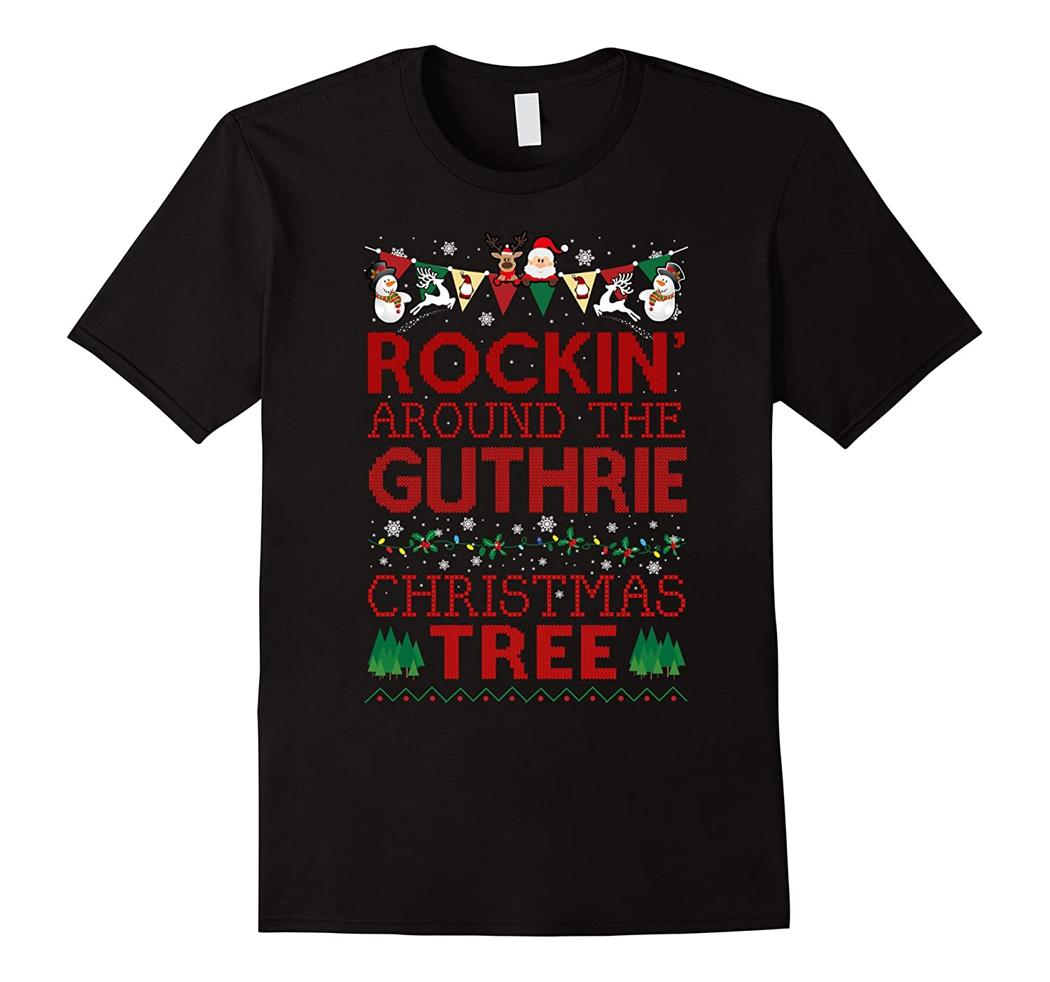 Guthrie Family Christmas T-shirt-RT