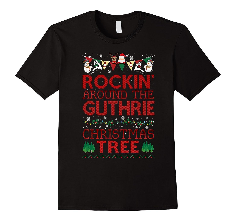 Guthrie Family Christmas T-shirt-RT