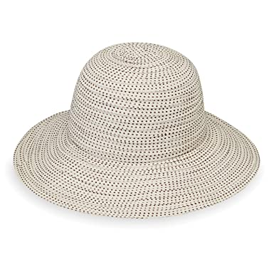 5bc026aca298e Image Unavailable. Image not available for. Colour  Wallaroo Hat Company  Women s Petite Scrunchie Sun ...