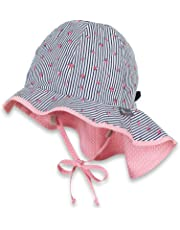 Sterntaler Baby-Mädchen Sonnenhut Sun Hat with Neck Protection