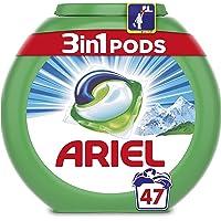 ARIEL 3 en 1 Pods Alpine Lessive en Capsules 47Lavages - Lot de 2