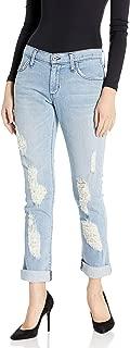 product image for James Jeans Women's Neo Beau Slim Slouchy Boyfriend Jean in Joy Ride