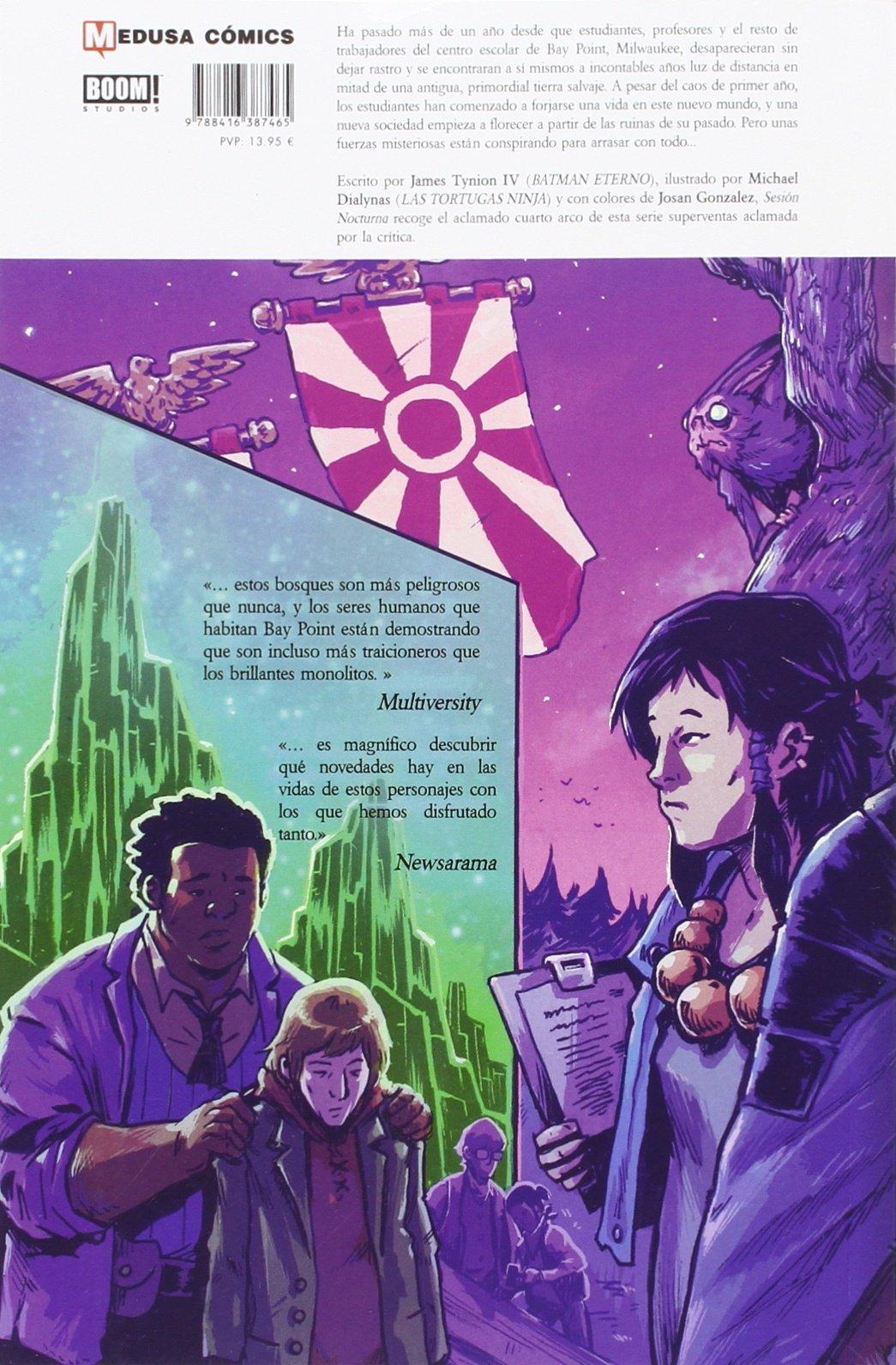 The Woods 4: Amazon.es: James Tynion IV, Michael Dialynas ...