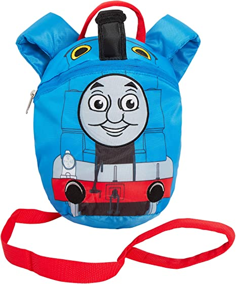 Thomas And Friends Boys Backpack Toddler Reins Bag Walking Safety Harness