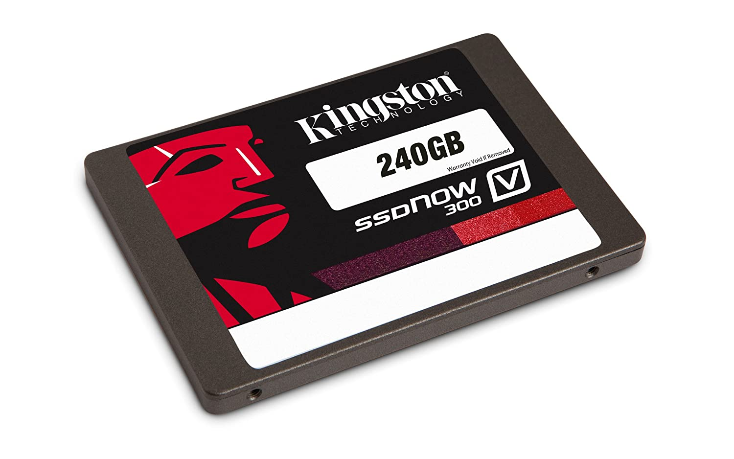 Kingston Digital Inc. 240 GB Notebook Bundle Kit with Adapter Solid State Drive SV300S3N7A/240G
