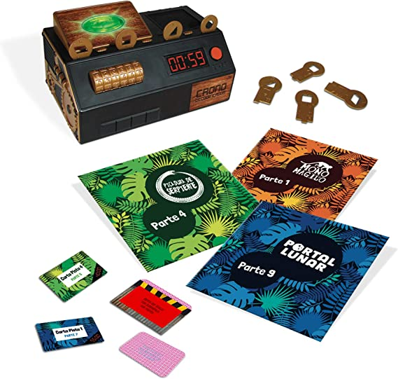 Diset Escape Room The Jungle (versión Familiar) (62331): Amazon.es: Juguetes y juegos